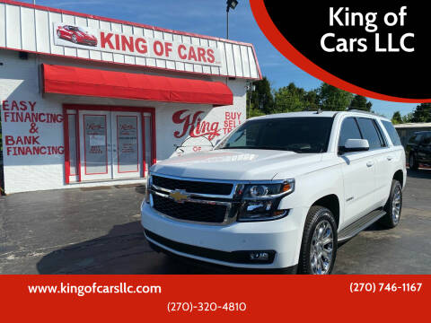 2015 Chevrolet Tahoe for sale at King of Cars LLC in Bowling Green KY