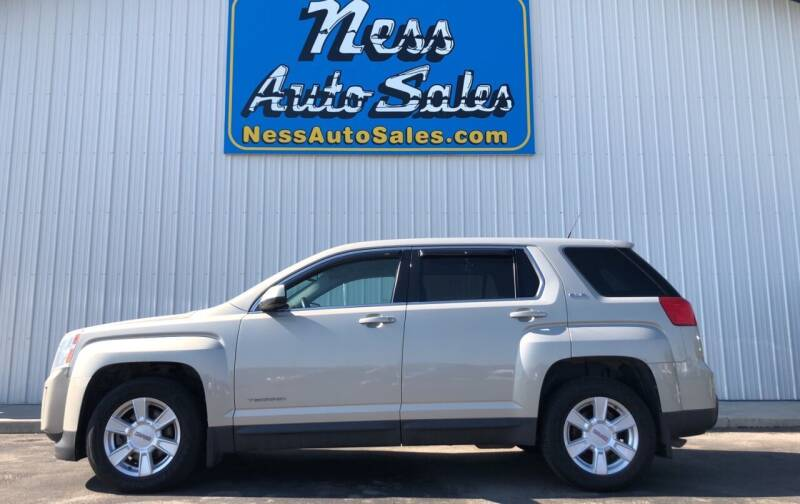 2011 GMC Terrain for sale at NESS AUTO SALES in West Fargo ND