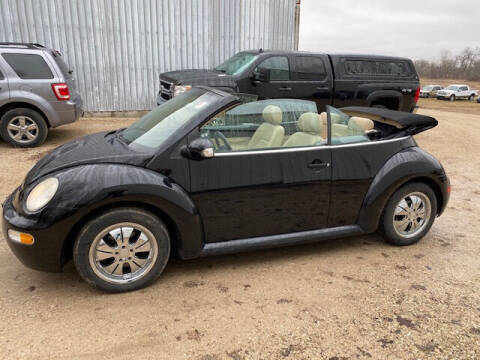 2003 Volkswagen New Beetle Convertible for sale at Dave's Auto & Truck in Campbellsport WI