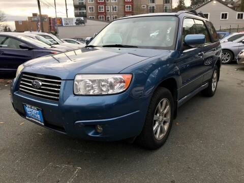 2007 Subaru Forester for sale at Sport Motive Auto Sales in Seattle WA