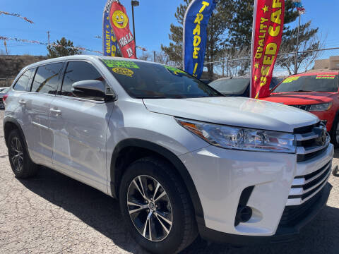 2017 Toyota Highlander for sale at Duke City Auto LLC in Gallup NM