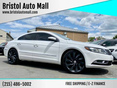 2014 Volkswagen CC for sale at Bristol Auto Mall in Levittown PA