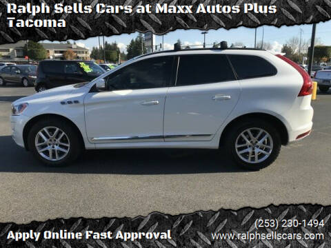 2017 Volvo XC60 for sale at Ralph Sells Cars at Maxx Autos Plus Tacoma in Tacoma WA