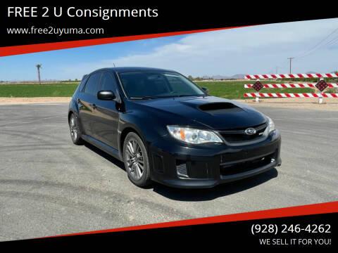 2013 Subaru Impreza for sale at FREE 2 U Consignments in Yuma AZ