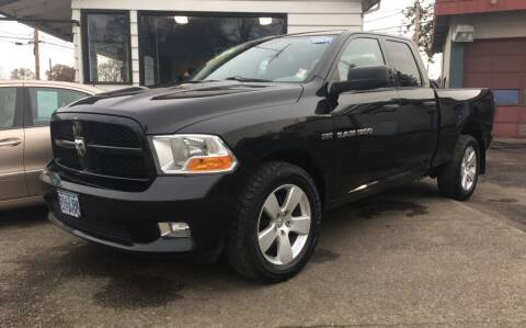 2012 RAM Ram Pickup 1500 for sale at Universal Auto INC in Salem OR