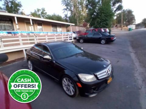 2008 Mercedes-Benz C-Class for sale at AUCTION SERVICES OF CALIFORNIA in El Dorado CA