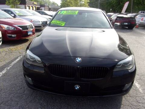 2013 BMW 5 Series for sale at Balic Autos Inc in Lanham MD