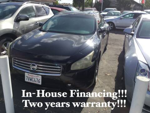 2011 Nissan Maxima for sale at Sidney Auto Sales in Downey CA