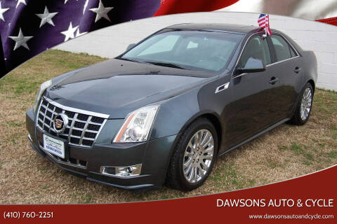 2013 Cadillac CTS for sale at Dawsons Auto & Cycle in Glen Burnie MD