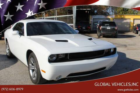 2016 Dodge Challenger for sale at Global Vehicles,Inc in Irving TX