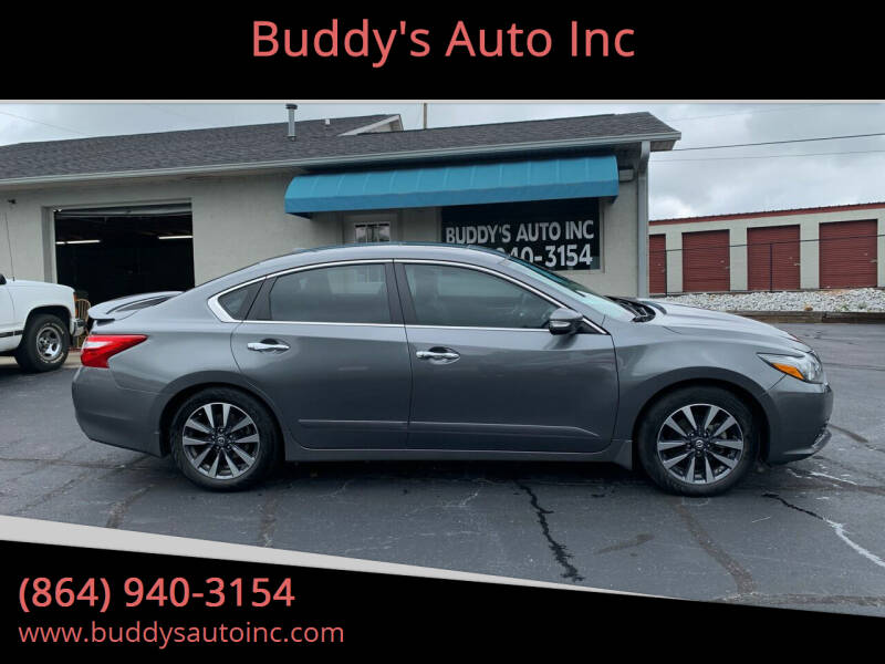 2016 Nissan Altima for sale at Buddy's Auto Inc in Pendleton SC