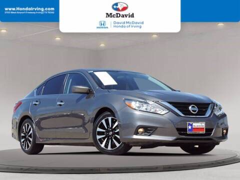 2018 Nissan Altima for sale at DAVID McDAVID HONDA OF IRVING in Irving TX