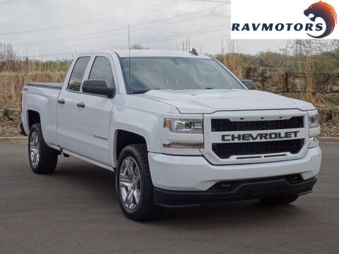 2017 Chevrolet Silverado 1500 for sale at RAVMOTORS in Burnsville MN