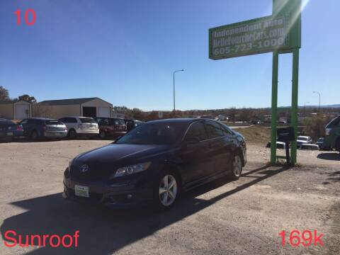 2010 Toyota Camry for sale at Independent Auto in Belle Fourche SD