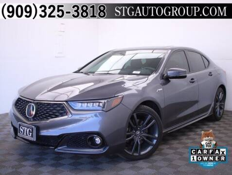 2018 Acura TLX for sale at STG Auto Group in Montclair CA