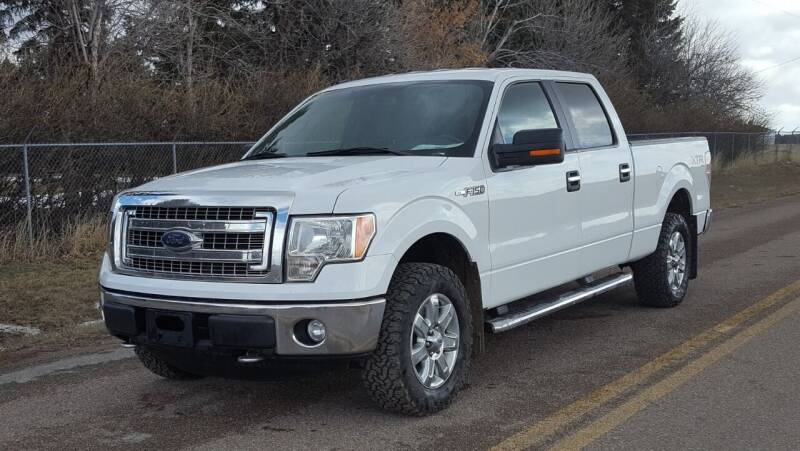2014 Ford F-150 for sale at Electric City Auto Sales in Great Falls MT