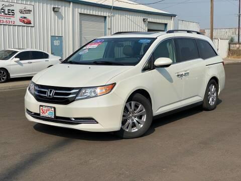 2014 Honda Odyssey for sale at SUPER AUTO SALES STOCKTON in Stockton CA
