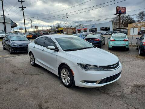 2015 Chrysler 200 for sale at Green Ride Inc in Nashville TN