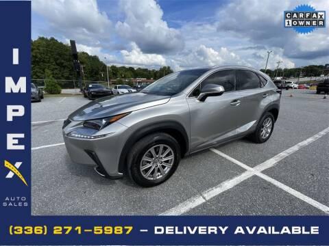 2019 Lexus NX 300 for sale at Impex Auto Sales in Greensboro NC