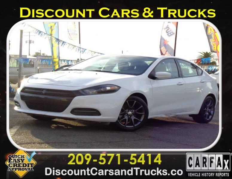2016 Dodge Dart for sale at Discount Cars & Trucks in Modesto CA