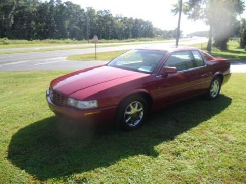 2002 Cadillac Eldorado for sale at HOGSTEN AUTO WHOLESALE in Ocala FL