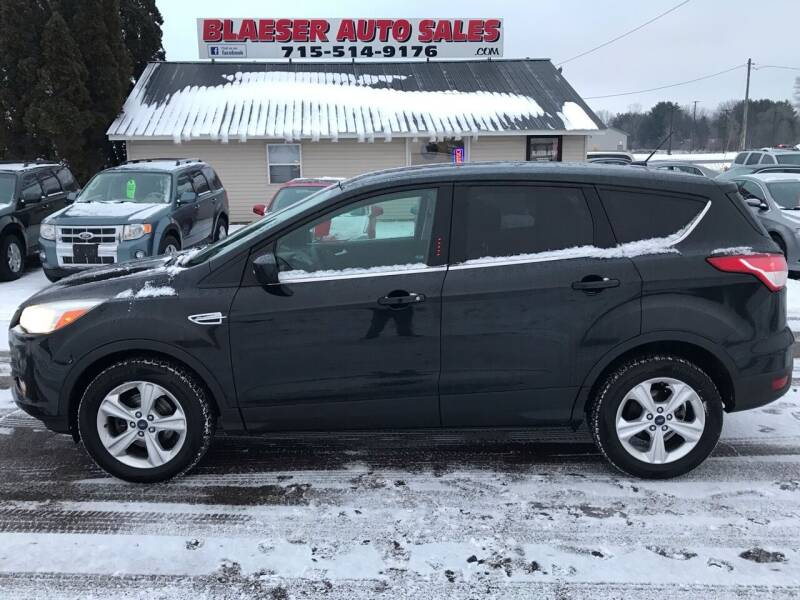 2014 Ford Escape for sale at BLAESER AUTO LLC in Chippewa Falls WI