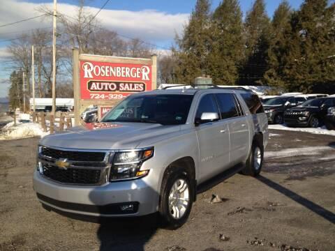 2018 Chevrolet Suburban for sale at Rosenberger Auto Sales LLC in Markleysburg PA