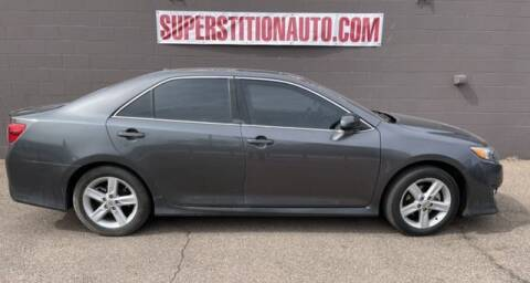 2013 Toyota Camry for sale at Superstition Auto in Mesa AZ