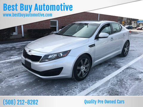 2011 Kia Optima for sale at Best Buy Automotive in Attleboro MA