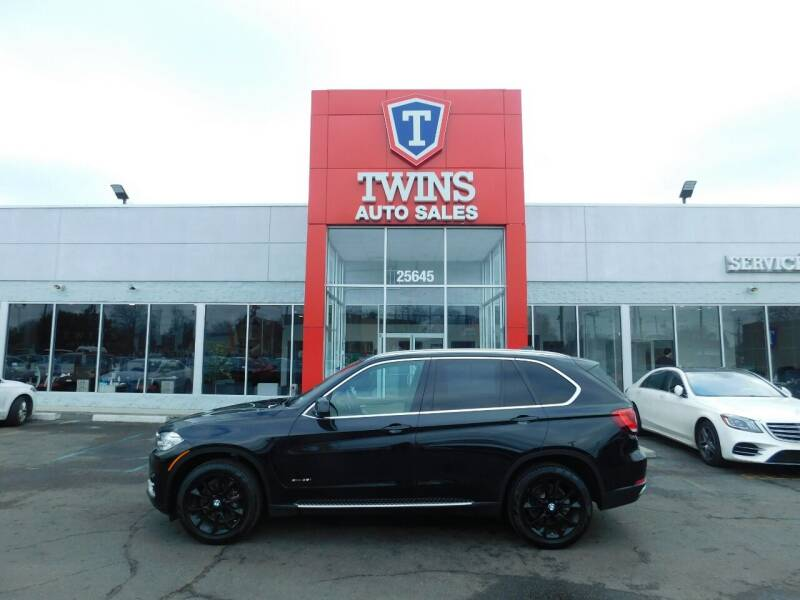 2018 BMW X5 for sale at Twins Auto Sales Inc Redford 1 in Redford MI