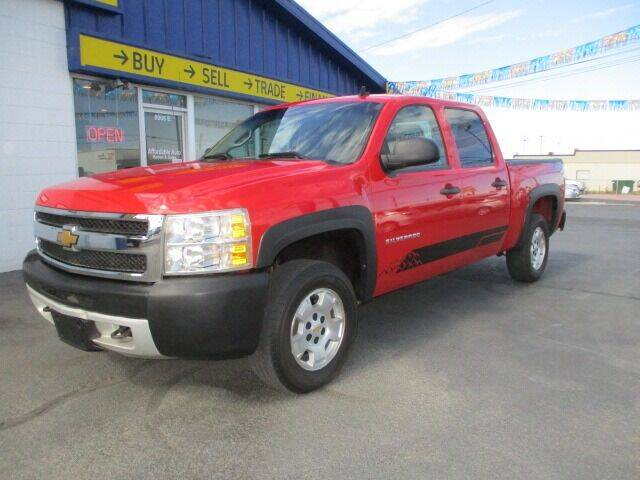 2013 Chevrolet Silverado 1500 for sale at Affordable Auto Rental & Sales in Spokane Valley WA