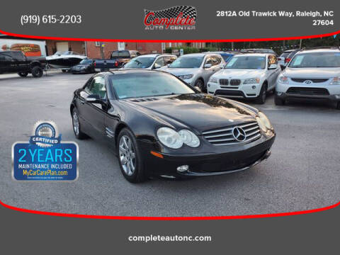 2003 Mercedes-Benz SL-Class for sale at Complete Auto Center , Inc in Raleigh NC