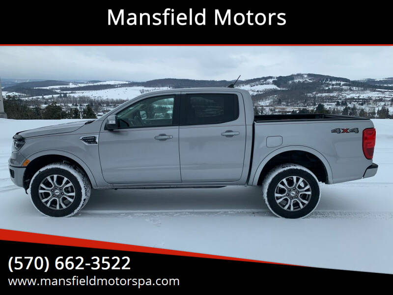 2020 Ford Ranger for sale at Mansfield Motors in Mansfield PA