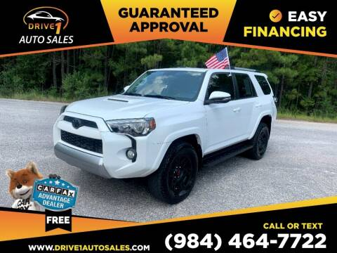 2016 Toyota 4Runner for sale at Drive 1 Auto Sales in Wake Forest NC
