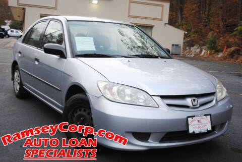 2004 Honda Civic for sale at Ramsey Corp. in West Milford NJ