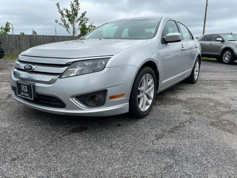 2012 Ford Fusion for sale at H3 MOTORS in Dickinson TX