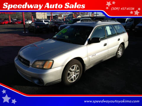 2004 Subaru Outback for sale at Speedway Auto Sales in Yakima WA