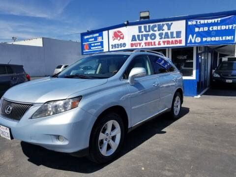 2010 Lexus RX 350 for sale at Lucky Auto Sale in Hayward CA
