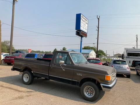 1988 Ford F-150 for sale at AFFORDABLY PRICED CARS LLC in Mountain Home ID