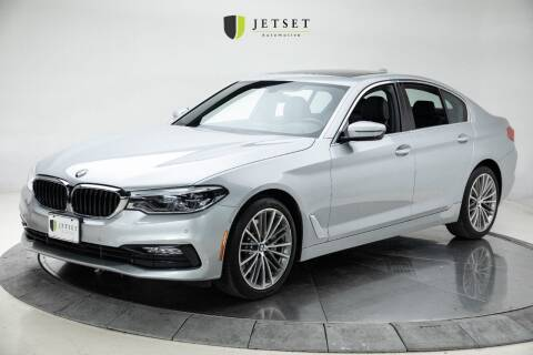 2017 BMW 5 Series for sale at Jetset Automotive in Cedar Rapids IA