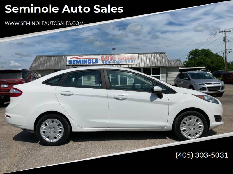 2016 Ford Fiesta for sale at Seminole Auto Sales in Seminole OK