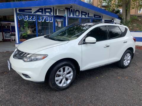 2011 Nissan Murano for sale at Car World Inc in Arlington VA