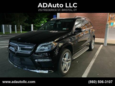 2016 Mercedes-Benz GL-Class for sale at ADAuto LLC in Bristol CT