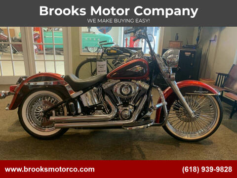 2013 HARLEY DAVIDSON FLSTC for sale at Brooks Motor Company in Columbia IL