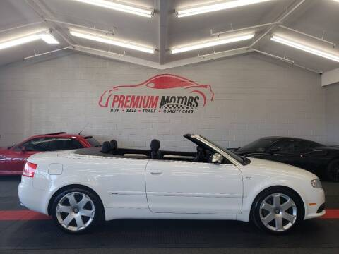 2009 Audi A4 for sale at Premium Motors in Villa Park IL
