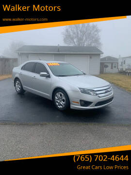 2010 Ford Fusion for sale at Walker Motors in Muncie IN