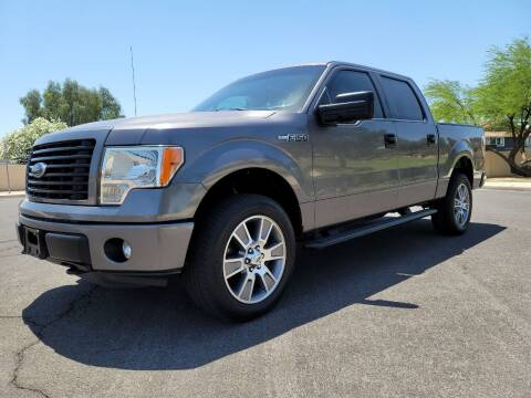2014 Ford F-150 for sale at AZ WORK TRUCKS AND VANS in Mesa AZ