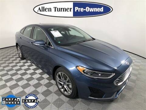 2019 Ford Fusion for sale at Allen Turner Hyundai in Pensacola FL