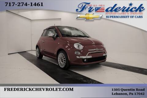 2017 FIAT 500 for sale at Lancaster Pre-Owned in Lancaster PA