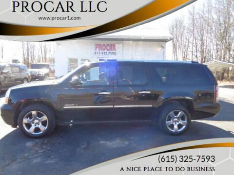 2012 GMC Yukon XL for sale at PROCAR LLC in Portland TN
